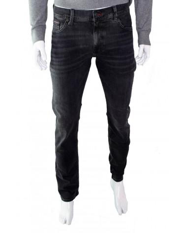 Spodnie TOMMY HILFIGER - MW0MW11724 czarny
