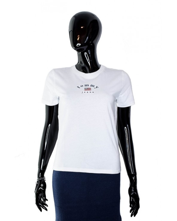 Koszulka TOMMY HILFIGER - DW0DW07164 YA2 biały