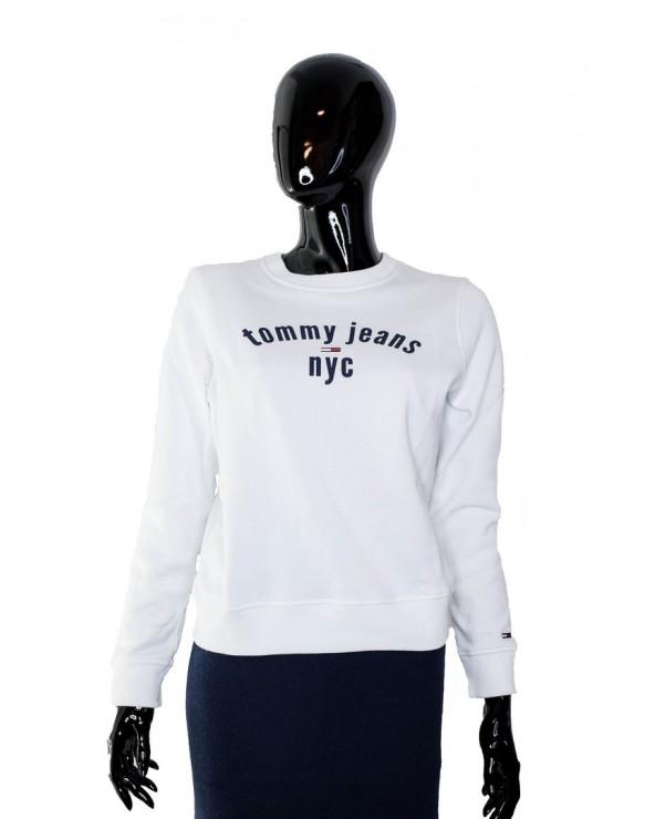 Bluza TOMMY HILFIGER - DW0DW07124 YA2 biały