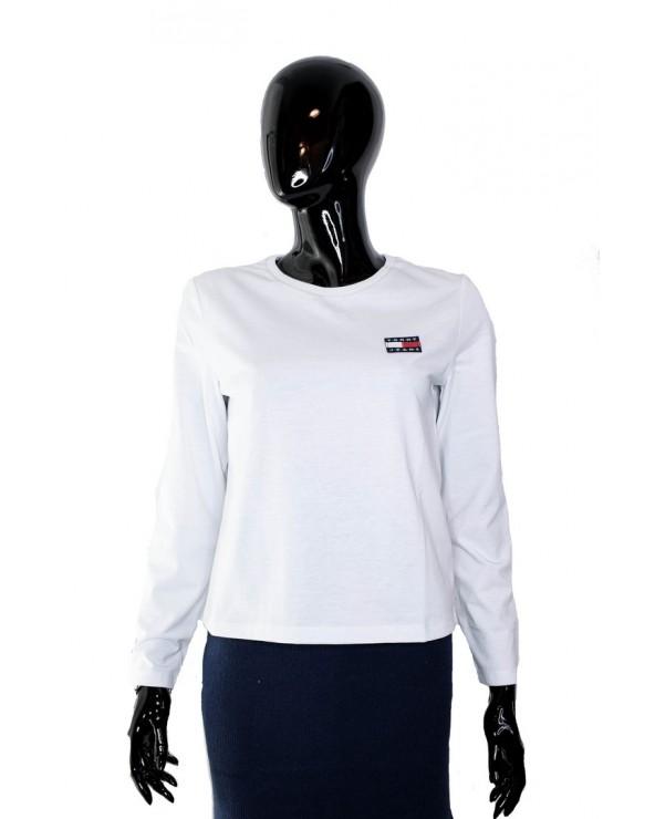 Bluzka TOMMY HILFIGER - DW0DW07433 YA2 biały