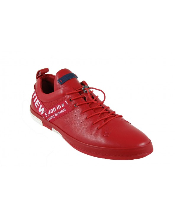 Półbuty JOHN DOUBARE - M8191-3 czerwony