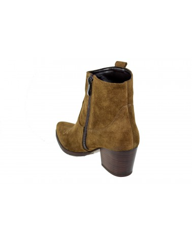Botki GAMIS - 3817 brązowy