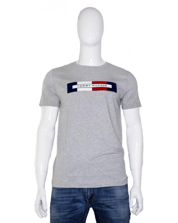 T-shirt TOMMY HILFIGER - MW0MW11796 P9V szary