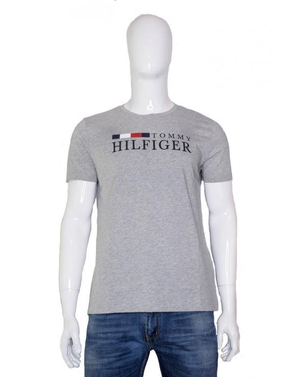 T-shirt TOMMY HILFIGER - MW0MW11795 P9V szary
