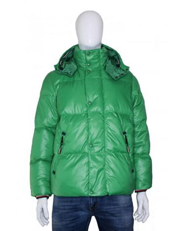 Kurtka TOMMY HILFIGER - MW0MW11487 LGZ zielony
