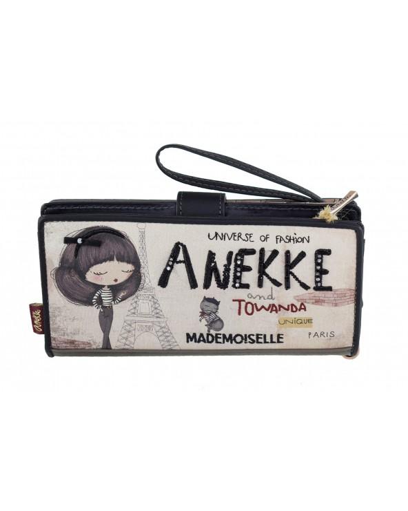 Portfel ANEKKE - 29889-01 czarny