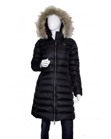 Płaszcz TOMMY HILFIGER - DW0DW07086 BBU czarny