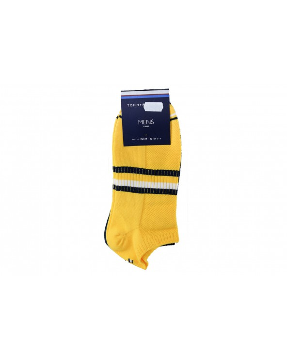 Skarpety TOMMY HILFIGER - 492022001 455 żółty, granatowy