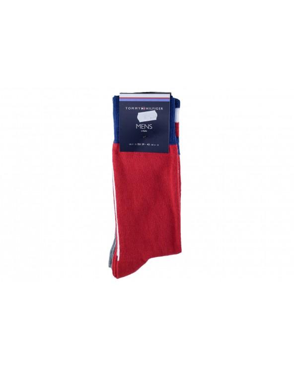 Skarpety TOMMY HILFIGER - 471013001 085 czerwony