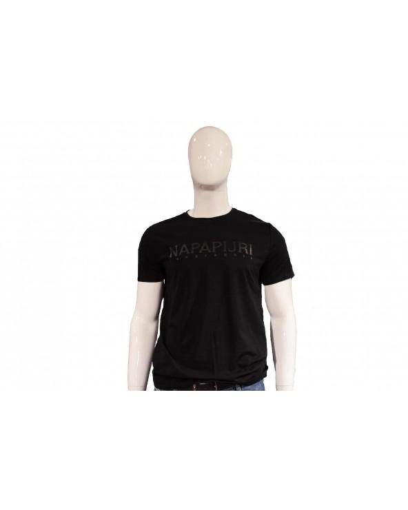 T-shirt NAPAPIJRI - NA10 czarny