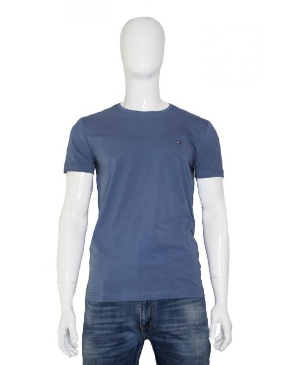 Koszulka TOMMY HILFIGER - MW0MW10800 C9T niebieski