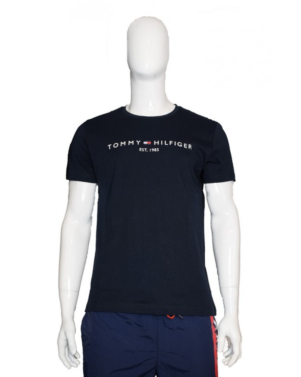Koszulka TOMMY HILFIGER - MW0MW11465 403 granatowy
