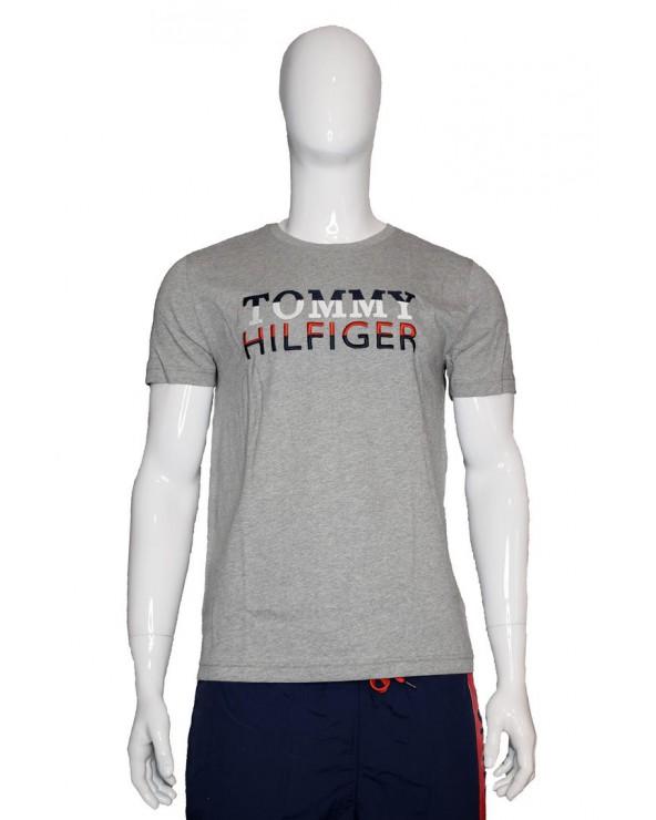 Koszulka TOMMY HILFIGER - MW0MW13336 P92 szary