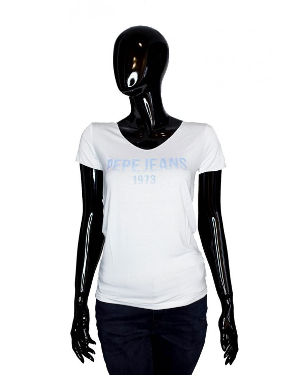T-shirt PEPE JEANS - PL504436 biały