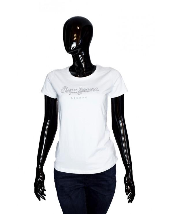 T-shirt PEPE JEANS - PL504434 biały