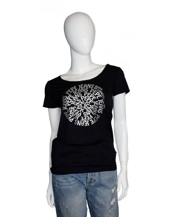 T-shirt PEPE JEANS - PL504435 czarny