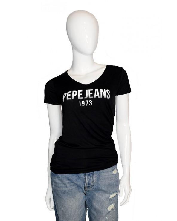 T-shirt PEPE JEANS - PL504436 czarny