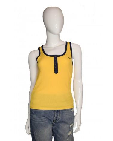 Koszulka PEPE JEANS - PL504482 żółty