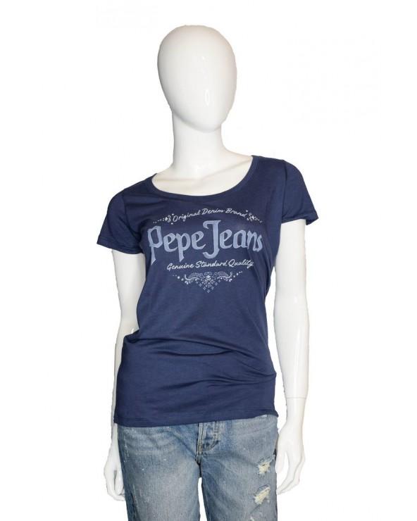T-shirt PEPE JEANS - PL504440 granatowy