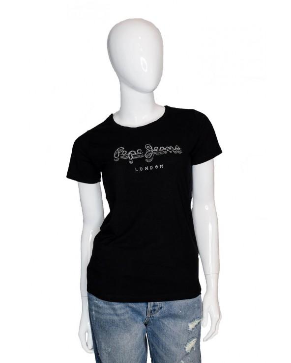 T-shirt PEPE JEANS - PL504434 czarny