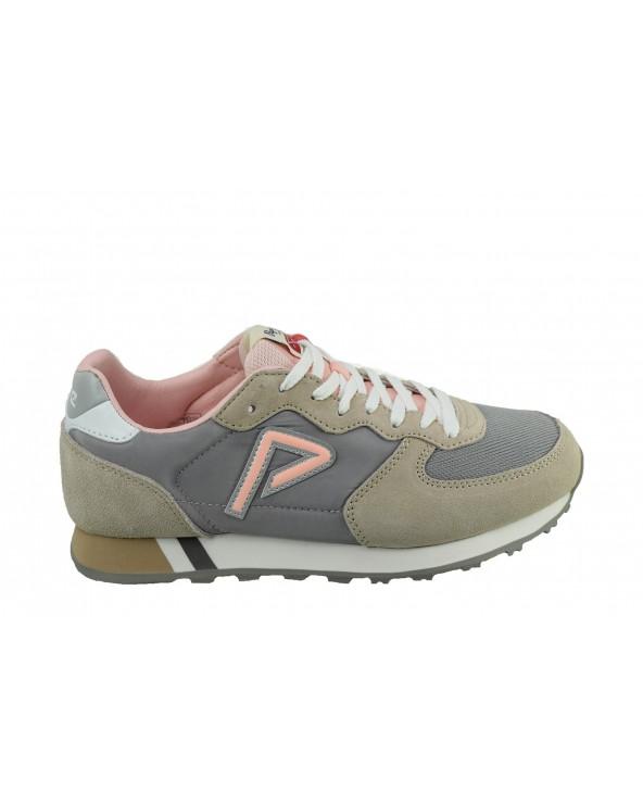 Sneakersy PEPE JEANS - PLS31004 szary, różowy