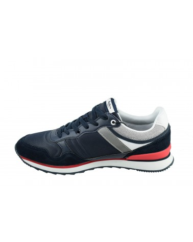 Sneakersy PEPE JEANS - PMS30607 granatowy