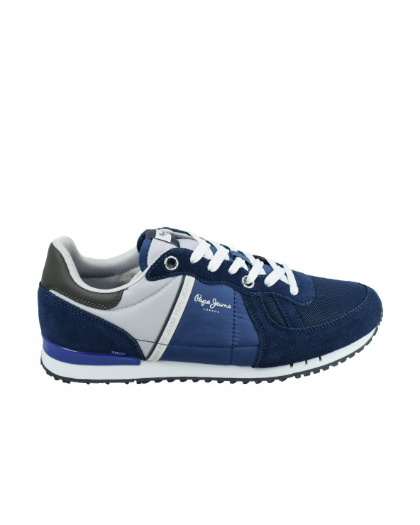 Sneakersy PEPE JEANS - PMS30612 granatowy