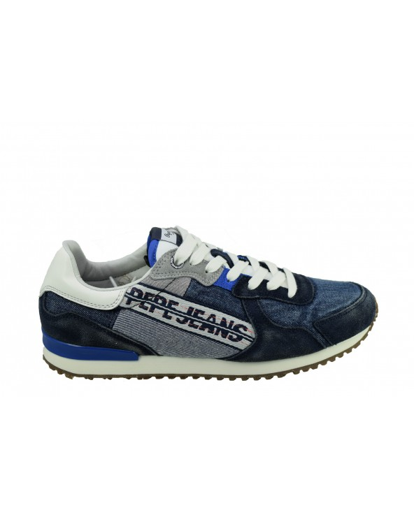 Sneakersy PEPE JEANS - PMS30623 granatowy