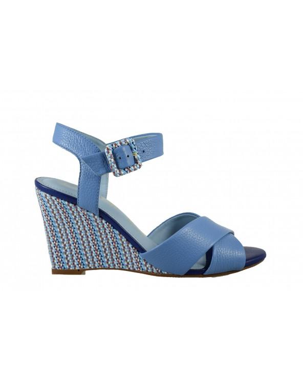 Sandały LORETTA VITALE - 7785-203-237 niebieski