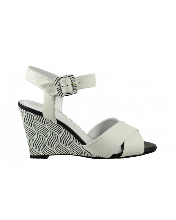 Sandały LORETTA VITALE - 7785-203-237 biały