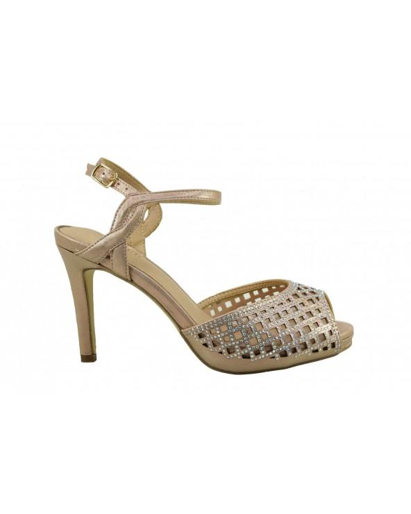 Sandały MENBUR 20741 0038- różowy