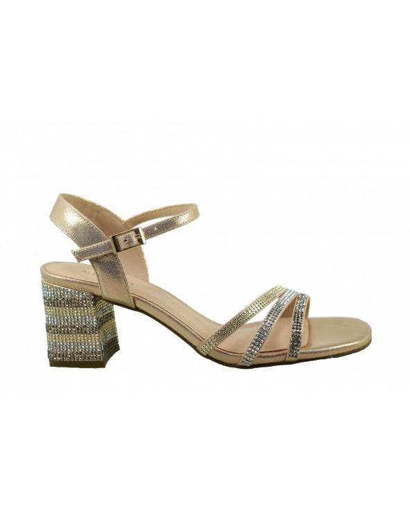 Sandały MENBUR 20845 - różowy