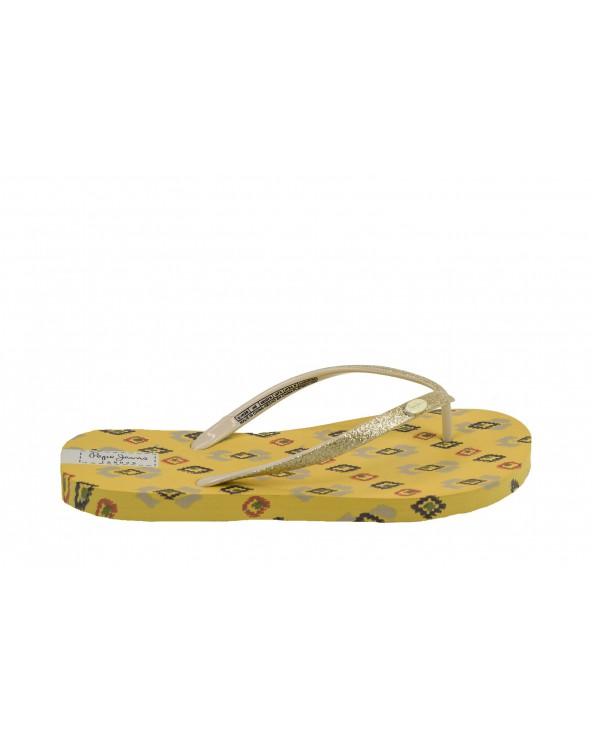 Japonki PEPE JEANS - PLS70074 żółty