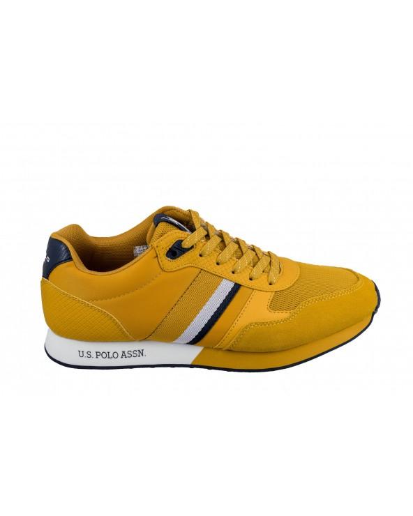 Sneakersy U.S POLO ASSN - FLASH4088S9/SN2 żółty