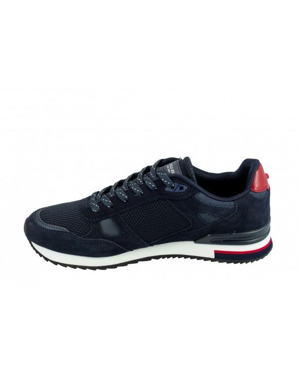 Sneakersy U.S POLO ASSN - FERRY4083W8/SM1 granatowy