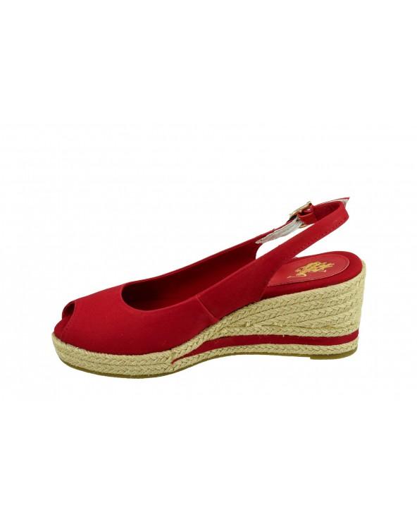 Sandały U.S POLO ASSN - AGATA4089S0/CY3 czerwony