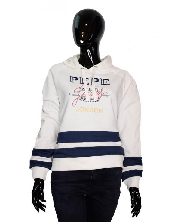 Bluza PEPE JEANS - PL580962 PAMELA biały