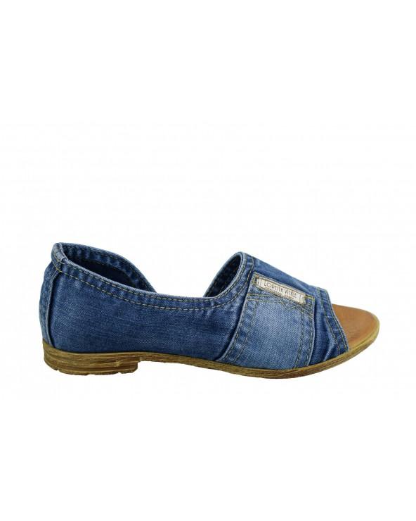 Sandały LORETTA VITALE - 2319 niebieski