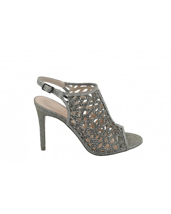 Sandały MENBUR - 20217 0071 srebrny