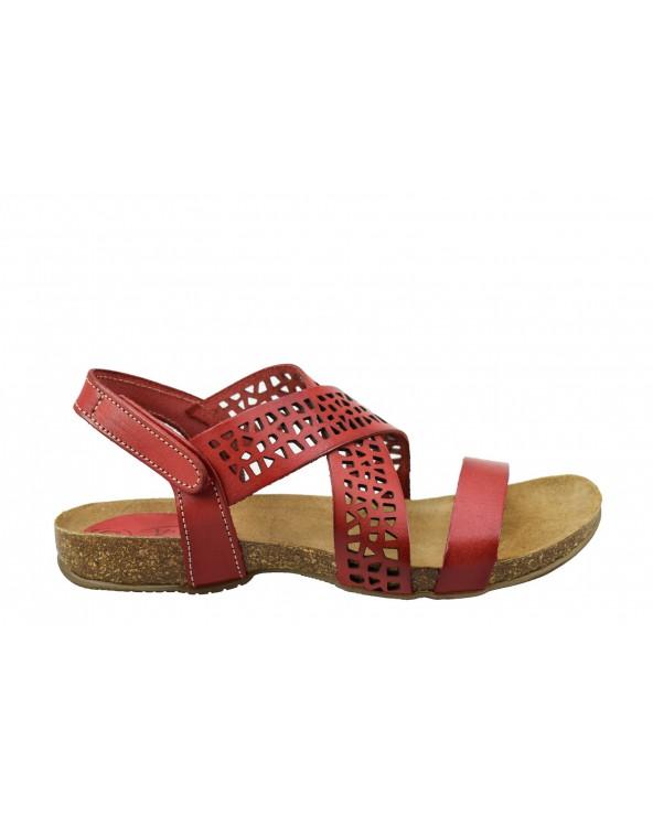 Sandały SPK SHOES - 2923 czerwony