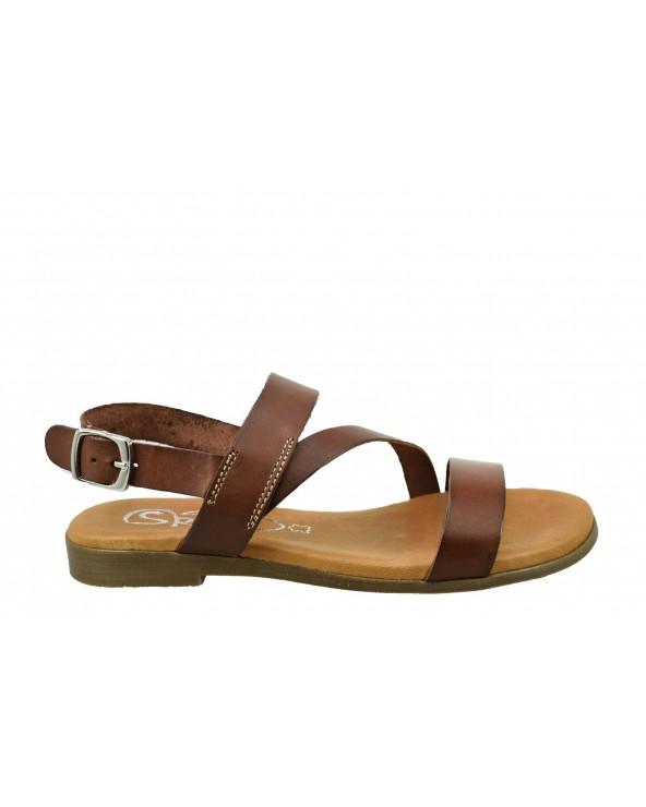 Sandały SPK SHOES - 2253 brązowy