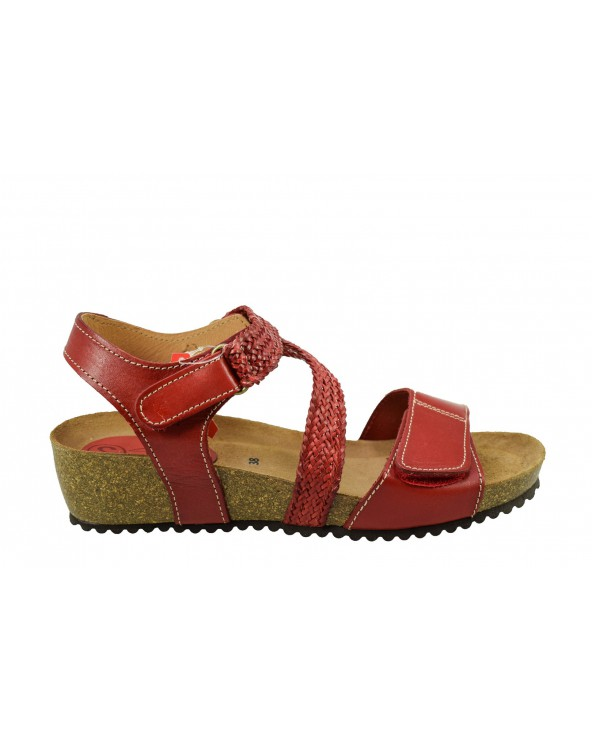 Sandały SPK SHOES - 2904 czerwony