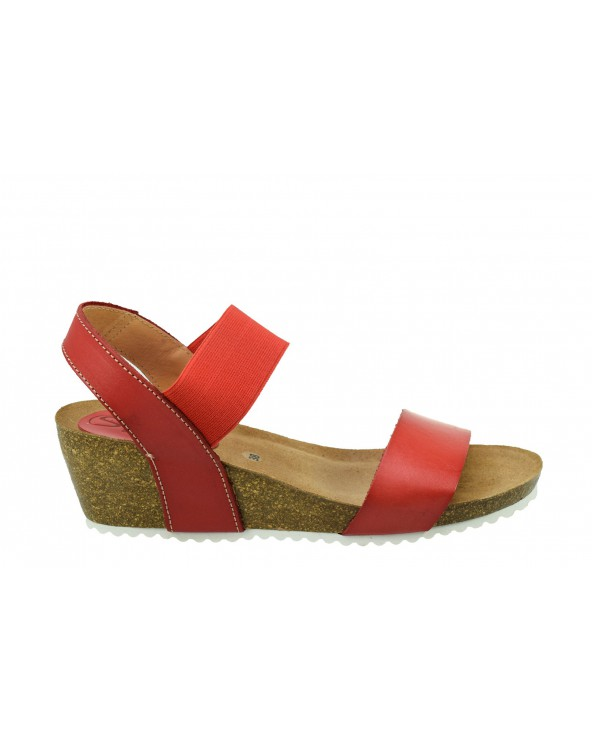 Sandały SPK SHOES - 2370 czerwony