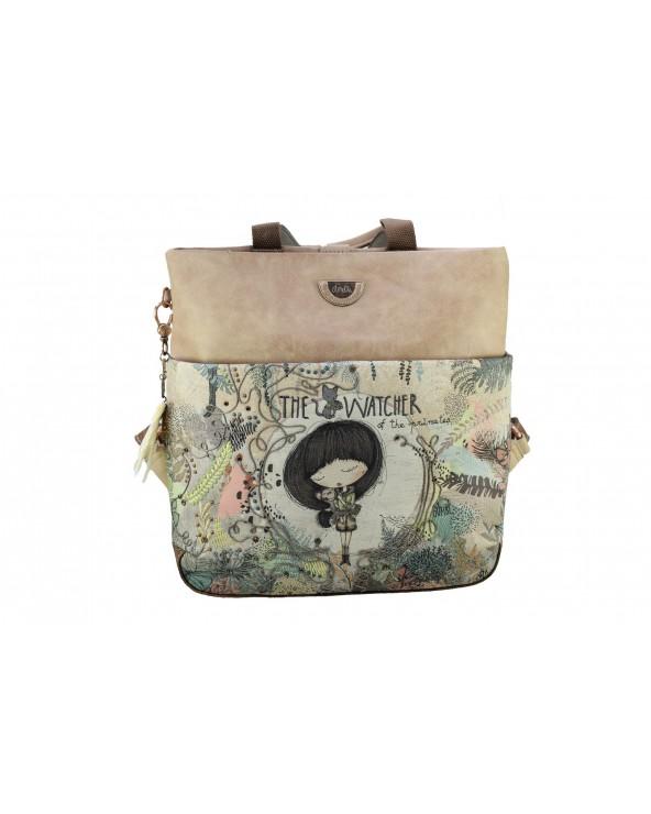 Plecak ANEKKE - 30715-58 beżowy
