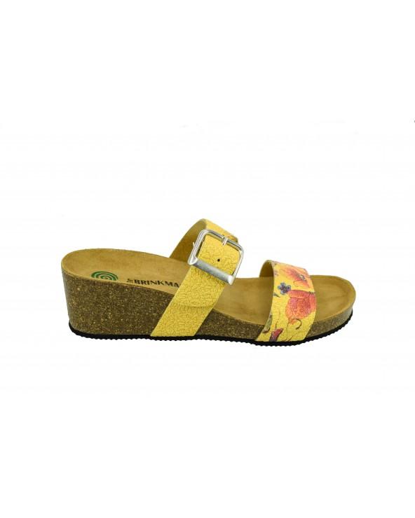 Klapki Dr. BRINKMANN - 701316 żółty