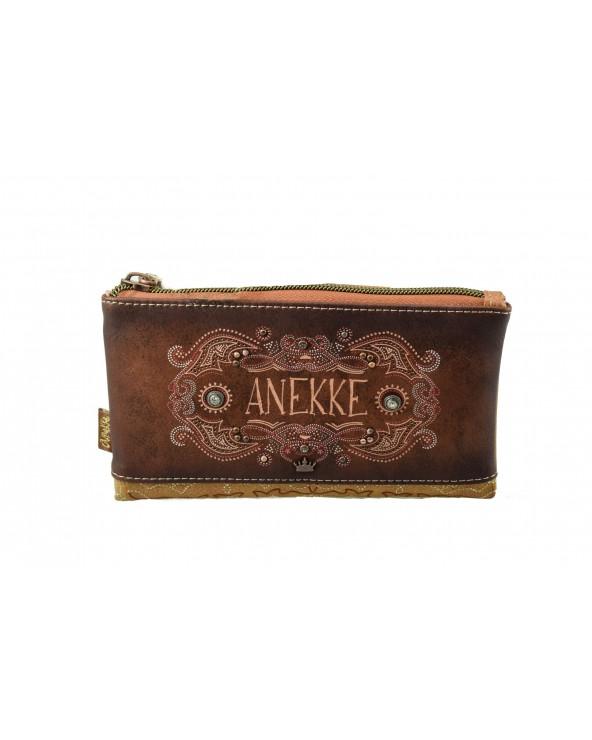 Portfel ANEKKE - 30709-07 brązowy