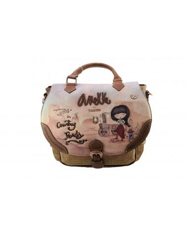 Torebko-plecak ANEKKE - 30705-01 brązowy