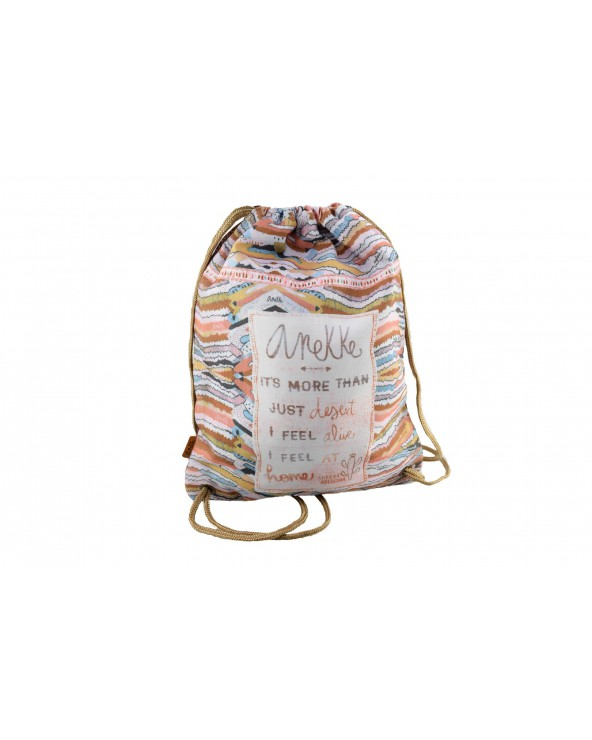 Worek/ plecak ANEKKE - 30710 brązowy