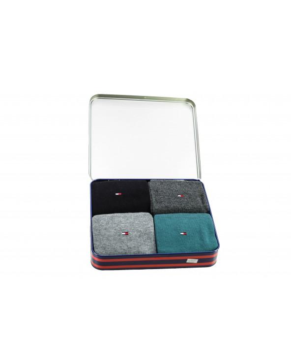 Skarpety TOMMY HILFIGER - 432017001 200 czarny