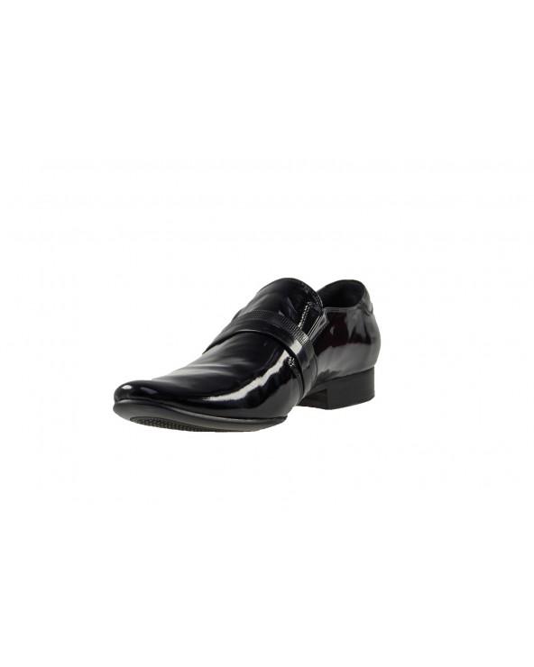 Eleganckie mokasyny męskie - czarne
